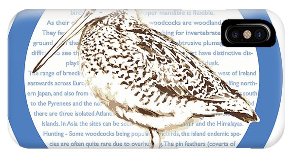 Woodcock iPhone Case - Woodcock by Greg Joens
