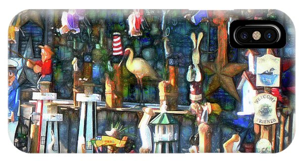 Woodcraft Giftshop In Montour Falls IPhone Case