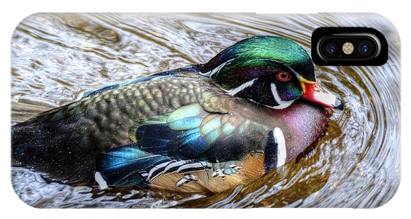 Woodduck Portrait IPhone Case