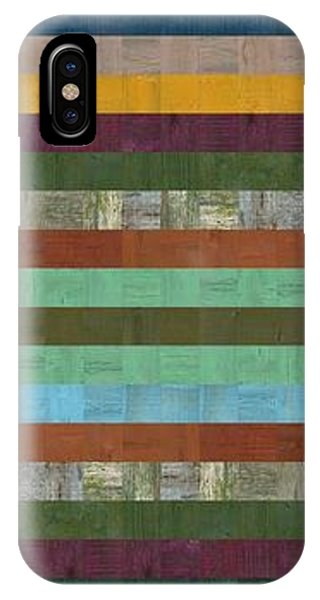 Wooden Abstract X  IPhone Case