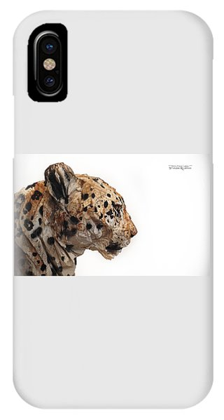 IPhone Case featuring the photograph Wooden Panther by Stwayne Keubrick