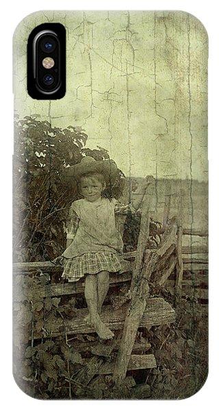 Wooden Throne IPhone Case