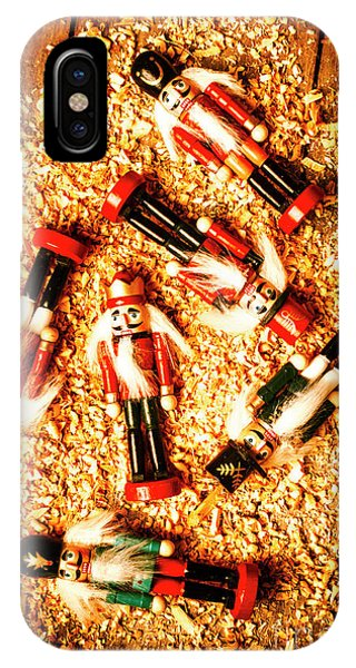 Wooden Toy Soldiers IPhone Case