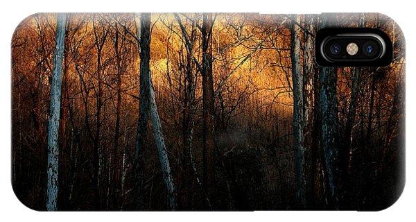 Woodland Illuminated IPhone Case