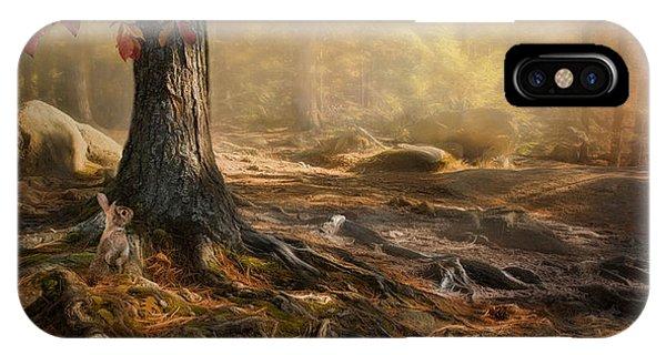 Woodland Mist IPhone Case