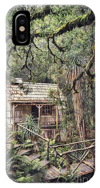 Historic House iPhone Case - Woodland Mysteries by Evelina Kremsdorf