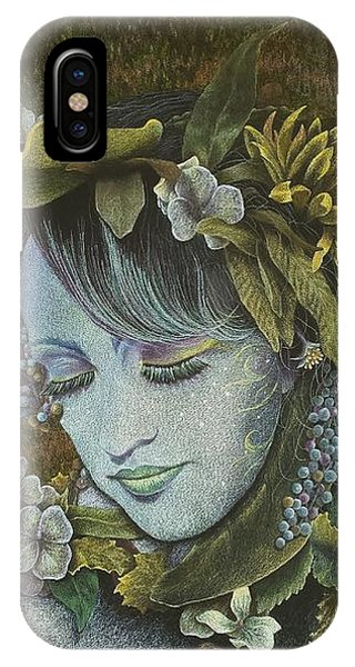 Woodland Nymph IPhone Case
