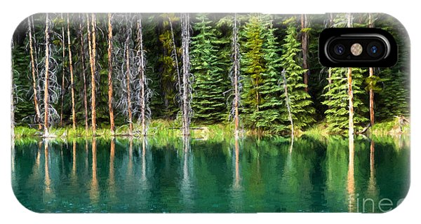 Woodland Reflections IPhone Case