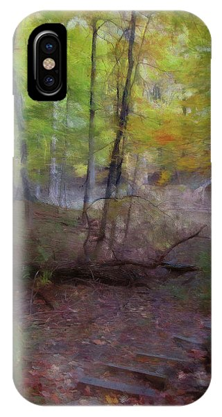 Woodland Steps IPhone Case