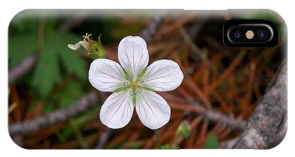 Woodland Wildflower IPhone Case