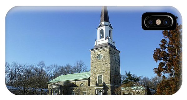 Woodlawn Cemetery Chapel IPhone Case