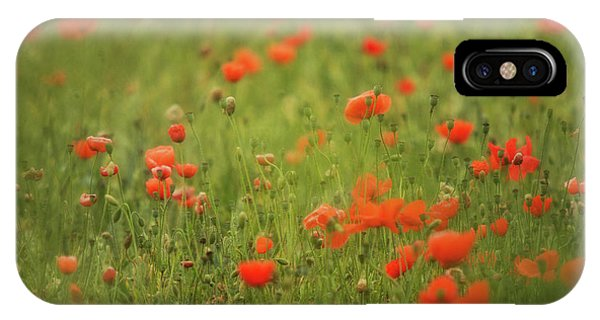 Worcestershire Poppy Field Phone Case by Wayne Molyneux