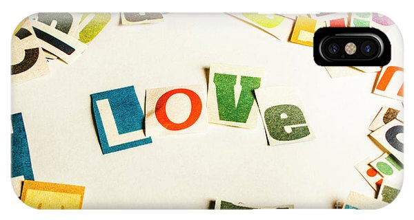 Design iPhone Case - Word Of Love by Jorgo Photography - Wall Art Gallery