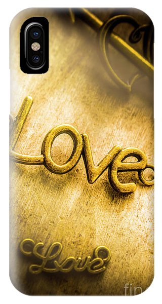 Bridal iPhone Case - Words And Letters Of Love by Jorgo Photography - Wall Art Gallery