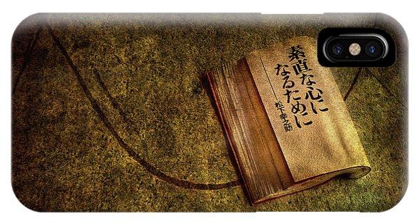 Chinese iPhone Case - Words Of Wisdom by Evelina Kremsdorf
