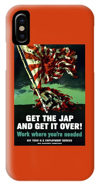 World War Two iPhone Case - Work Where You're Needed -- Ww2 by War Is Hell Store