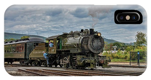 Workhorse At Steamtown IPhone Case
