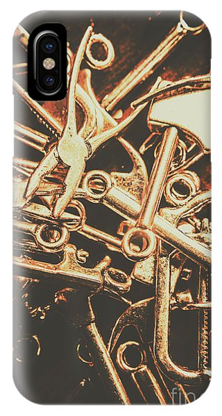 Small Business iPhone Case - Workshop Abstract by Jorgo Photography - Wall Art Gallery