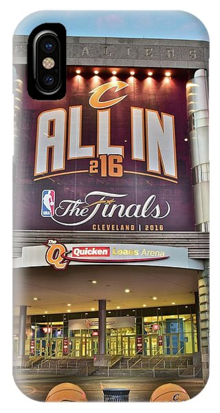 Lebron James iPhone Case - World Champion Cleveland Cavaliers by Frozen in Time Fine Art Photography