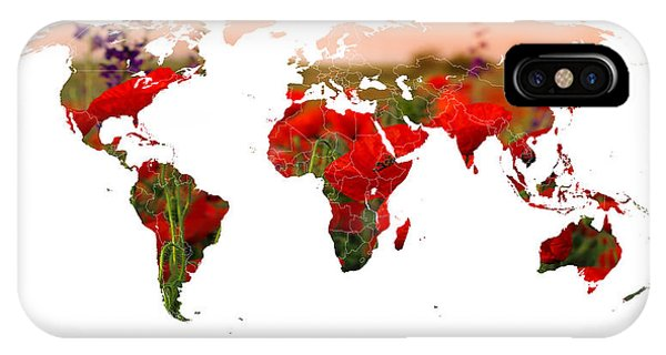 World Of Poppies IPhone Case