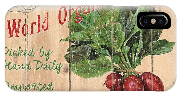 Market iPhone Case - World Organic Market by Debbie DeWitt
