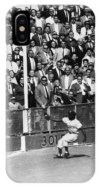 Yankee Stadium iPhone Case - World Series, 1955 by Granger