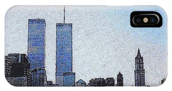World Trade Center Once Upon A Time... IPhone Case