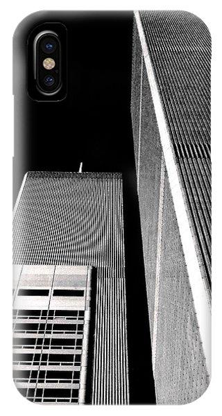 World Trade Center Pillars IPhone Case