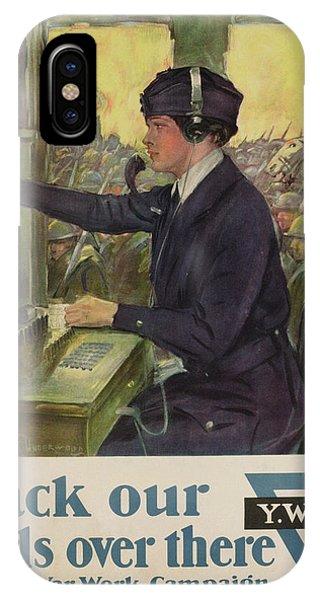 World War I Ywca Poster IPhone Case