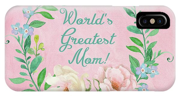 World's Greatest Mom IPhone Case