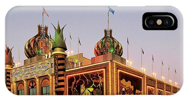 World's Only Corn Palace 2017-18 IPhone Case