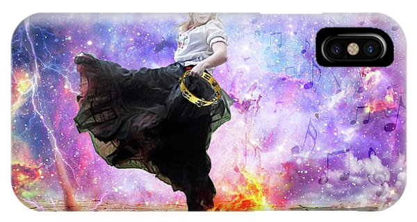 Worship iPhone Case - Worship Warrior by Dolores Develde