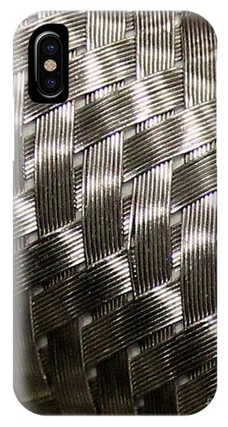 Woven Pipe IPhone Case