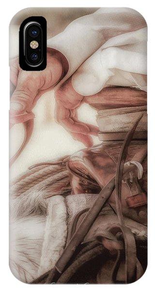 Wrangler Hands IPhone Case