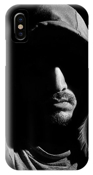 Wrapped In Shadows IPhone Case