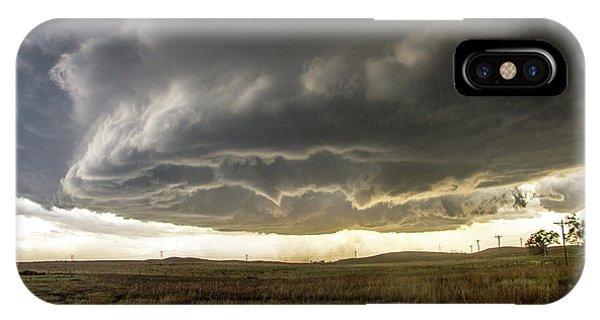 Nebraskasc iPhone Case - Wray Colorado Tornado 021 by NebraskaSC