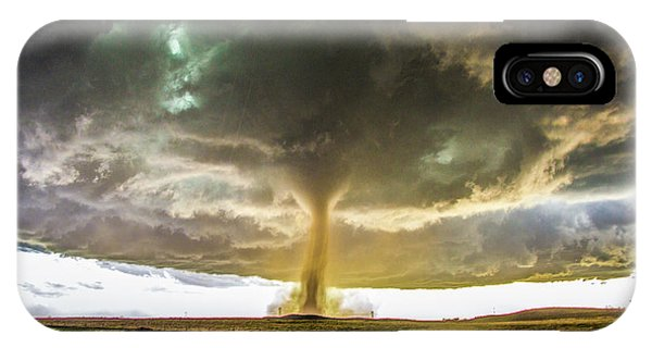 IPhone Case featuring the photograph Wray Colorado Tornado 070 by NebraskaSC