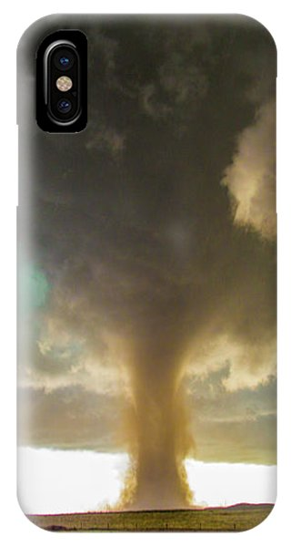 IPhone Case featuring the photograph Wray Colorado Tornado 079 by NebraskaSC