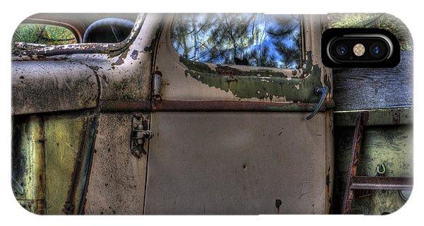 Wrecking Yard Study 4 IPhone Case