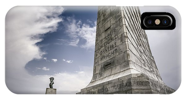 Granite iPhone Case - Wright Brothers by Eduard Moldoveanu