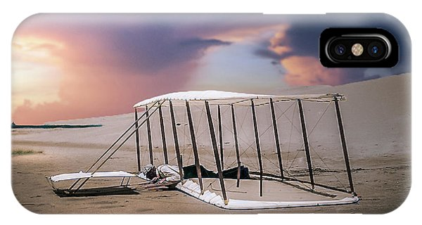 Wright Brothers Glider Phone Case by Brent Shavnore