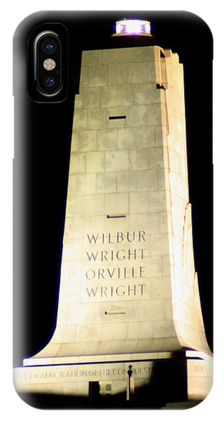 Wright Brothers' Memorial IPhone Case