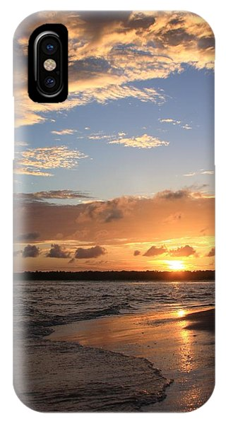 Wrightsville Beach Island Sunset IPhone Case