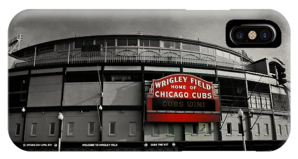 Wrigley Field Home Of The Chicago Cubs IPhone Case