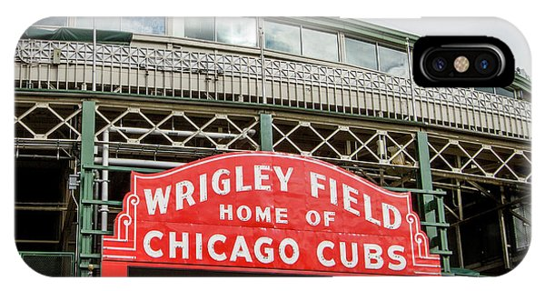 Wrigley Field Marquee IPhone Case