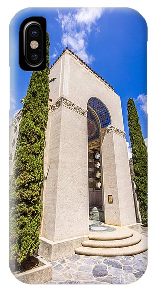 Wrigley Memorial On Catalina Island Picture IPhone Case