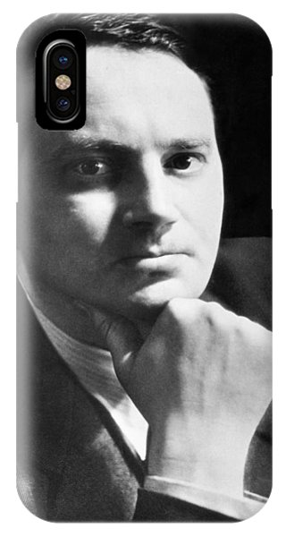 Clayton iPhone Case - Writer Thomas Wolfe by Underwood Archives