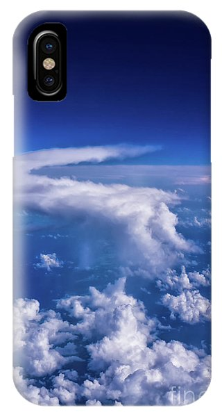 Writing In The Sky IPhone Case