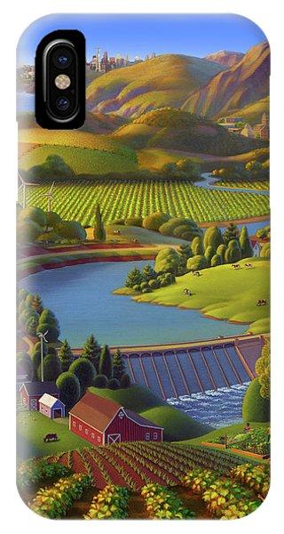 Washington State University  Anniversary Poster  IPhone Case