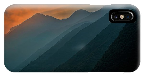 Wu Gorge Sunrise IPhone Case